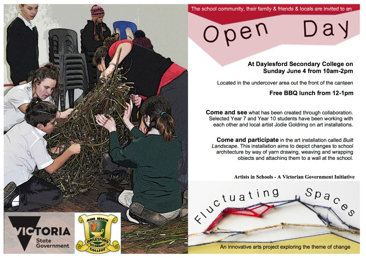 EDITED OPEN DAY invite