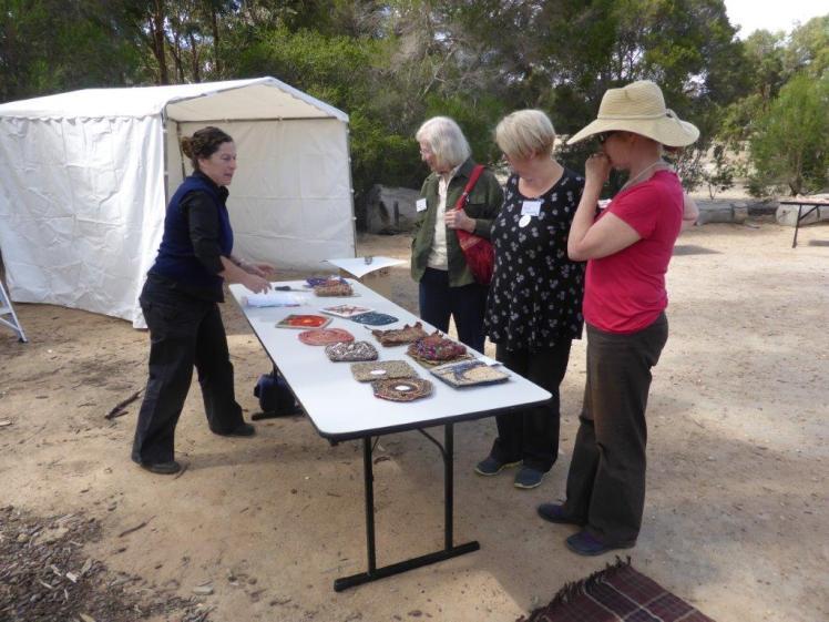 Jodie Goldring VIC, Gwyn Yeo NSW, Barb Hawkins VIC, Fleur Brett VIC