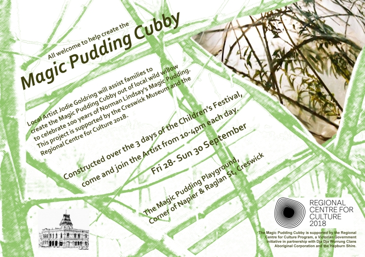 Magic Pud Cubby FLYER