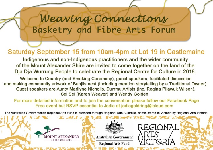 Weaving Connections Flyer