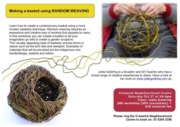 Random Weaving POSTER