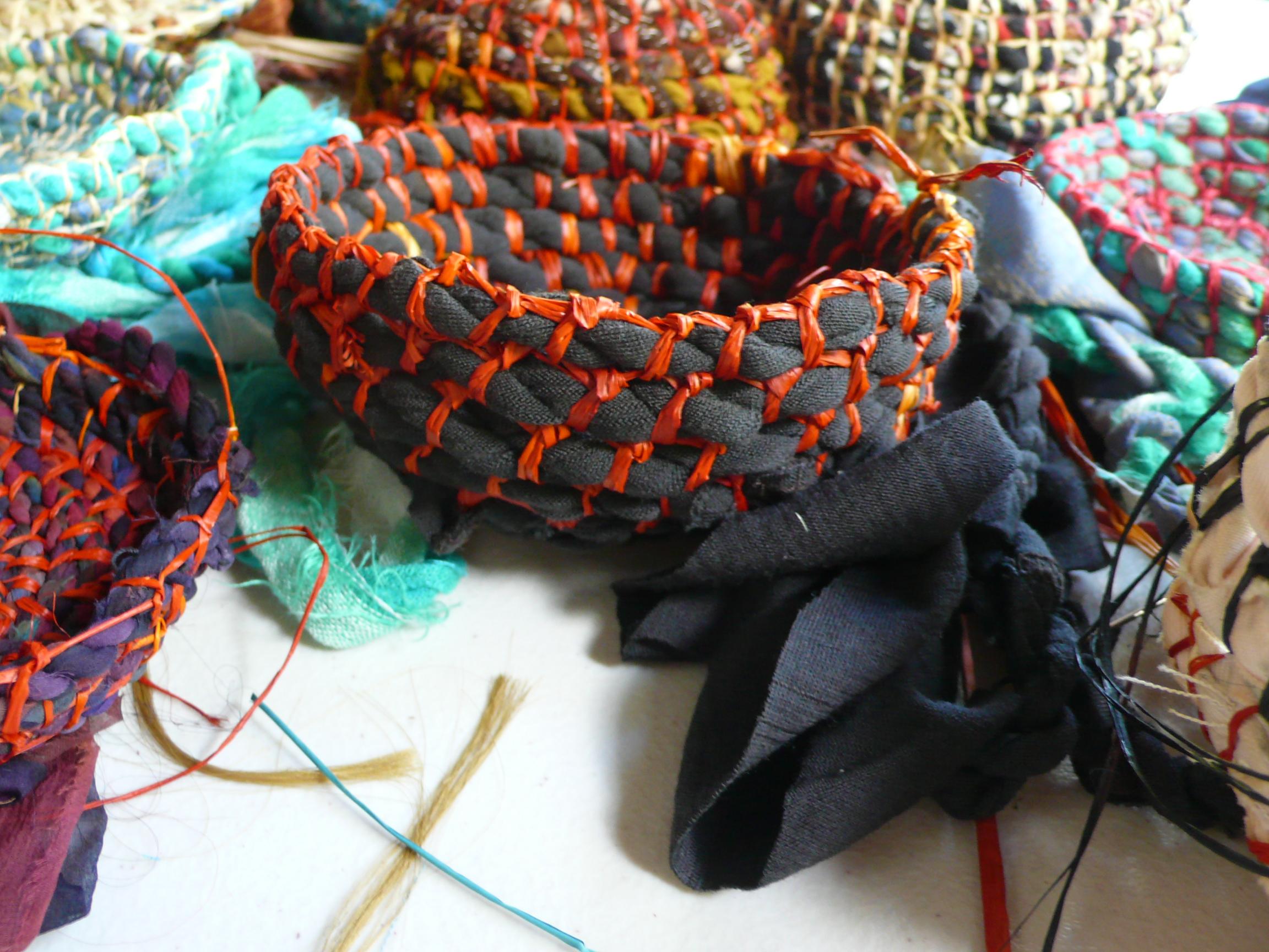 Baskets detail