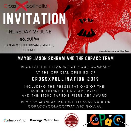 CrossXpollinatioN 2019 invitation
