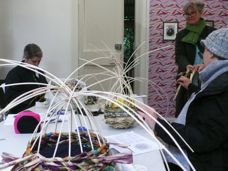 Participants Weaving 1