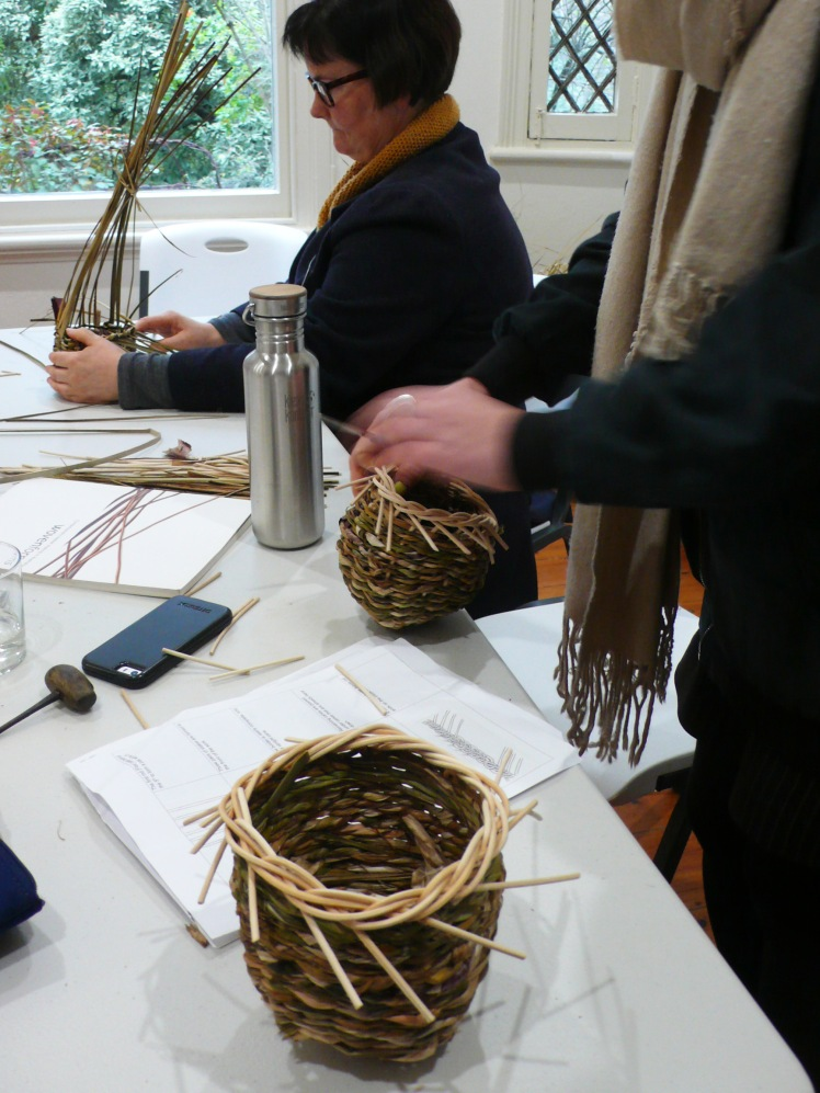 Participants Weaving 3